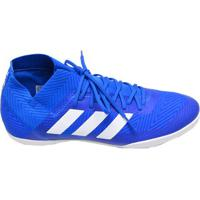 fabddf988e Chuteira Masculina Futsal Indoor Nemeziz Adidas Azul