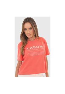 Camiseta Cantão Lagom Laranja