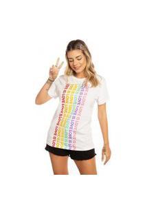 T-Shirt Rainbow Love Is Love