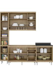 Cozinha Compacta Multimóveis Sicília 5812.132.695.610 Argila Amarelo Se