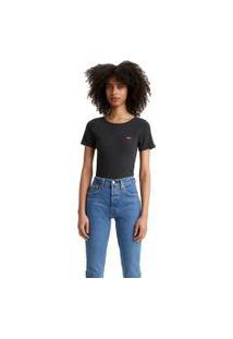 Camiseta Levis Honey Short Sleeve Preto