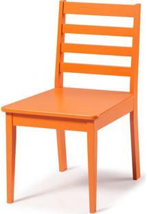Cadeira Imperial Cor Laranja Vivo - 32507 - Sun House