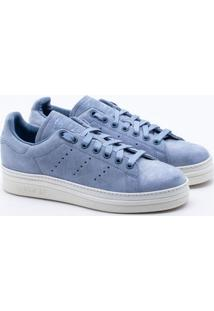 c332f2b0f34 Tênis Adidas Stan Smith New Bold Originals Azul Feminino 34