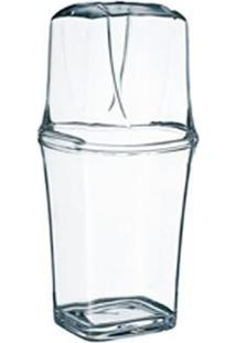 Porta Escova Acrílico Cristal- Kos