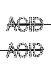 Ashley Williams Acessório Para Cabelo Acid - Preto