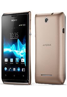 "Smartphone Sony Xperia E Duos - 4Gb - 3Mp - Tela 3.5"" - Android 4.1"