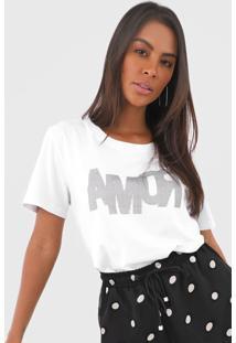 Camiseta Forum Amor Branca - Kanui