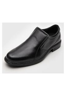 Sapato Social Pegada Anilina Preto