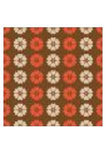 Papel De Parede Adesivo - Flores Em Listras - 082Ppf