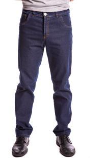 Calça Jeans Aero Jeans Reta Azul Marinho