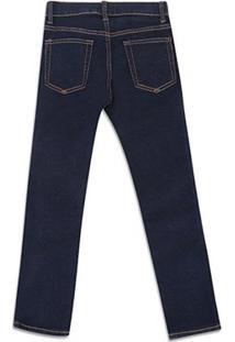 Calça Jeans Infantil Gap Escura Masculina - Masculino-Azul Escuro