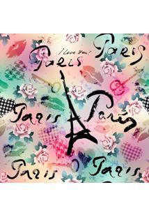 Papel De Parede Adesivo Amo Paris (0,58M X 2,50M)