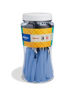 Faqueiro Itaparica 24 Peças Azul Fog Brinox