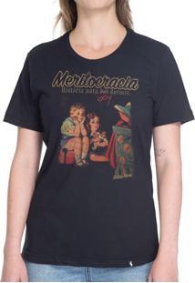 Meritocracia - Camiseta Basicona Unissex