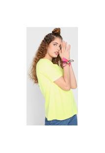 Camiseta My Favorite Thing(S) Neon Verde