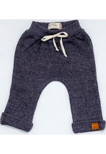 Calça Mini Lord - Diogo Menino Bebê - Chumbo Mescla