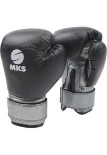 Luva Boxe Mks Combat Profissional - Unissex