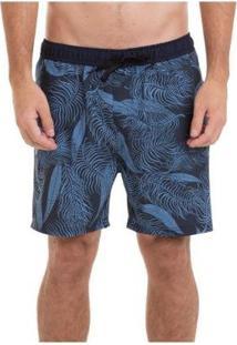 Bermuda Quiksilver Boardshort Pack Volley 18 Masculina - Masculino-Azul