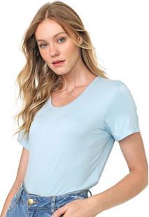 Camiseta Forum Lisa Azul