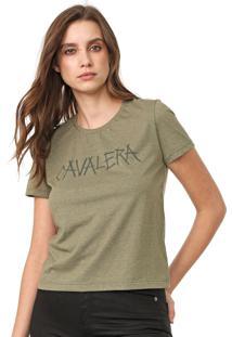Camiseta Cavalera Girl Verde