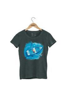 Camiseta Forseti Estonada Navegante Verde