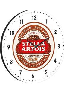 Relógio De Parede Stella Branco