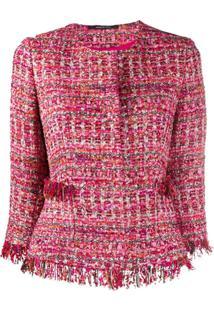 Tagliatore Jaqueta Milly De Tweed - Rosa