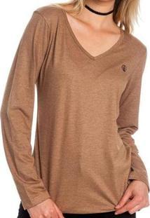 Camiseta Volcom Basic Stone - Feminino