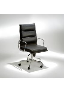 Cadeira Com Braços Giratória Ea219 Soft Alumínio Studio Mais Design By Charles E Ray Eames