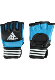 Luvas De Mma Adidas Bsblu - Adulto - Preto/Azul