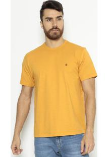 Camiseta Comfort Fit Lisa - Amarelaindividual