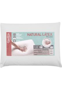 Travesseiro Duoflex Natural Látex 45X65 Bege