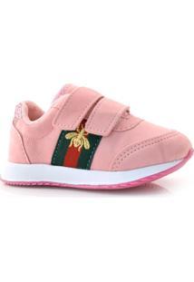 Tênis Rosa Infantil Via Vip