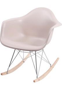 Cadeira Eames Com Braco Base Balanco Fendi Fosco - 35821 Sun House