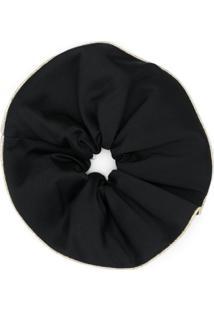 Atu Body Couture Acessório Para Cabelo Com Acabamento Contrastante - Preto
