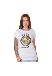 Camiseta Stoned Peace-Za Branca