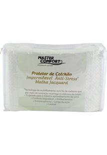 Capa Protetora Para Colchão Solteiro Impermeável Anti-Stress - Master Comfort