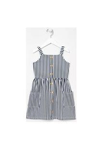 Vestido Infantil Listras - Tam 5 A 14 Anos | Fuzarka (5 A 14 Anos) | Multicores | 7-8