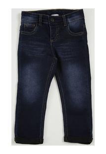 Calça Infantil Jeans Bolsos Marisa