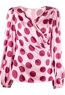 Dolce & Gabbana Blusa De Poás - Rosa