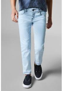Calça Mini Jeans Combate Reserva Mini Masculino - Masculino-Azul Claro