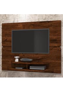 Painel Para Tv Até 55 Polegadas 10338 Rústico Malbec - Dj Móveis