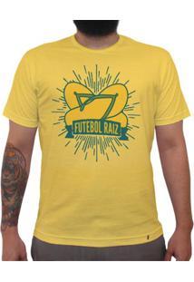 Futebol Raiz - Camiseta Clássica Masculina
