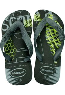 Chinelo Infantil Havaianas Kids Athletic - Masculino
