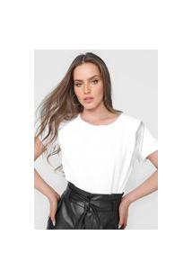 Camiseta Lança Perfume Franjas Branca