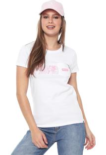 Camiseta Hurley Damino Stripe Branca - Kanui