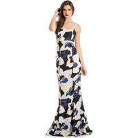 ca9cbda76c Occhi Azzurri. Vestido Longo Floral Alphorria ...