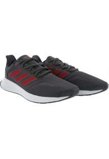 Tênis Adidas Running Masculino Runfalcon Mesh Cinz