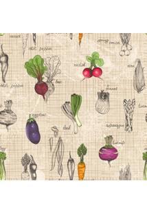Papel De Parede Adesivo Vegetables 02 (2,50M X 0,58M)
