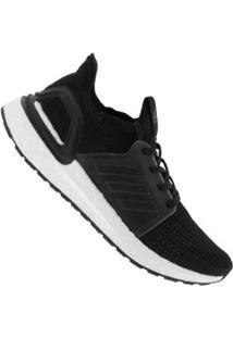 Tênis Adidas Ultraboost 19 - Feminino - Preto/Branco